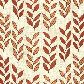 Minoan grasses on milk cream weave by Su_G