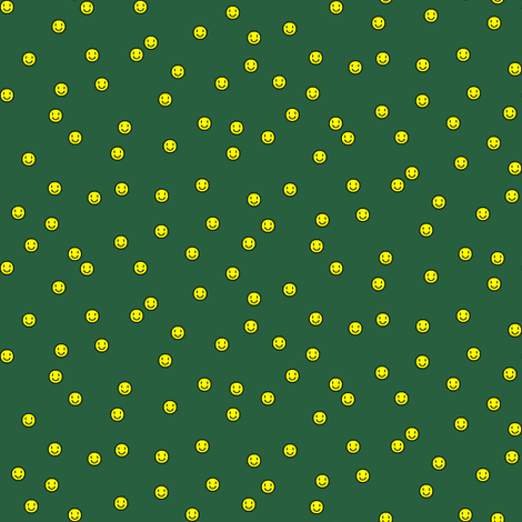 smilodot-hunter-green fabric by gimpworks on Spoonflower - custom fabric