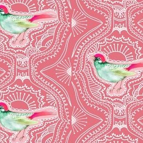 SongBird Camelia Pink Lace