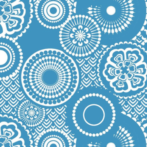 eclectic_flowers-navy blue