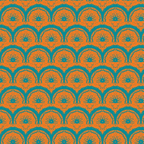 Scales and Stars/Teal & Orange