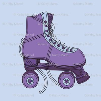 Purple Roller Skate Repeat