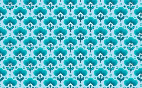 littledaisyblue fabric by myracle on Spoonflower - custom fabric