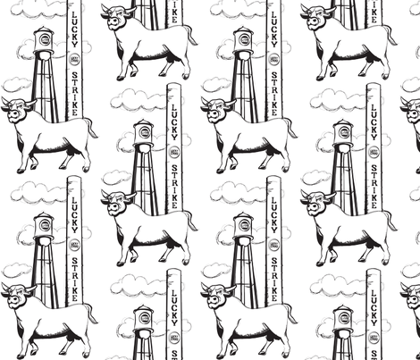 Durham Pride fabric by bliss_24 on Spoonflower - custom fabric