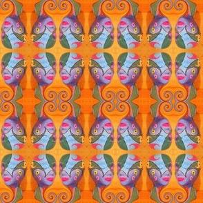 paisley swirl head