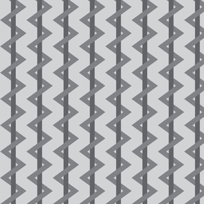 Stripe Chevron Gray