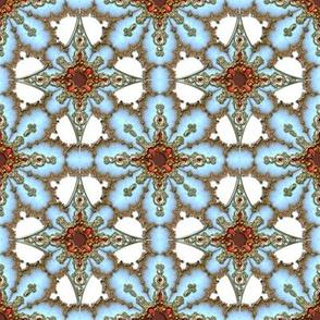 Gilt Snowflake 1