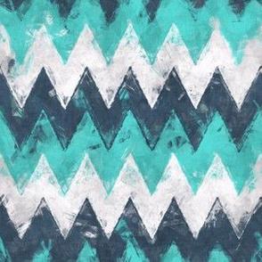 Chevron Turquoise