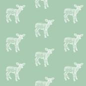 Dear Deer Antique Green