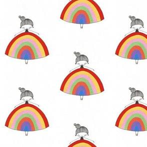 marniemakes rainbow girl