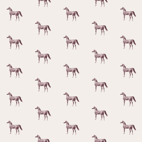 Arabian Horse Antique, warm neutral