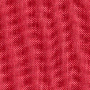 seamless red faux burlap