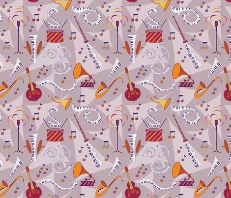 Snazzy Jazzy fabric by brendazapotosky on Spoonflower - custom fabric