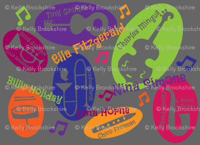 Colorful personalities of Jazz