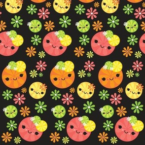 Kawaii Citrus - Black