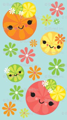 Kawaii Citrus - Mint Green