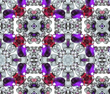 silver bracelet fabric by kociara on Spoonflower - custom fabric