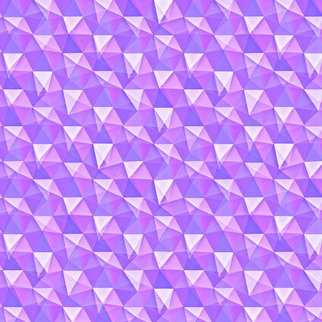 amethyst crystals fabric by weavingmajor on Spoonflower - custom fabric