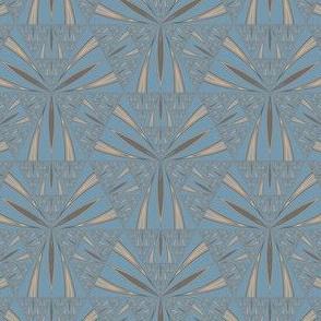 Blue Sierpinski Triangle © Gingezel™