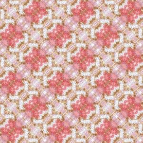 Patchwork: Softly Pink Diagonal