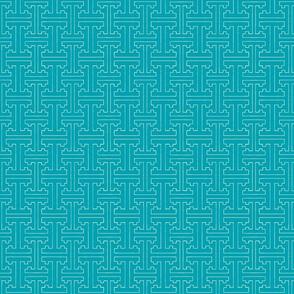 Cloisonne Maritime Blue Graphic-ch