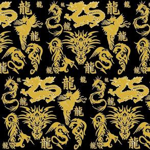 MIDNIGHT GOLDEN DRAGON