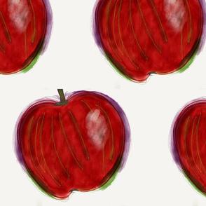 she's apples, mate
