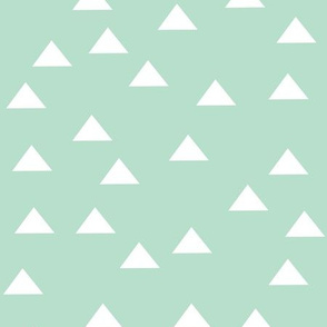 Triangles Turquoise