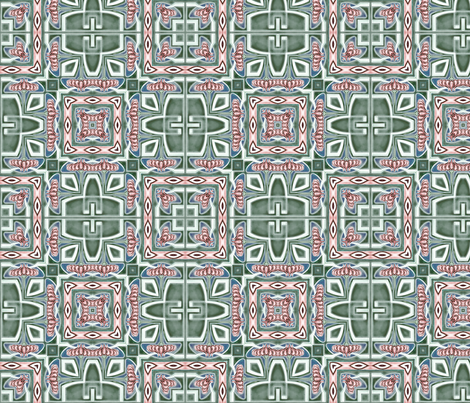 tile 9 fabric by kociara on Spoonflower - custom fabric