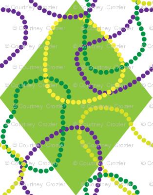 Mardi Gras Diamonds-and-Beads
