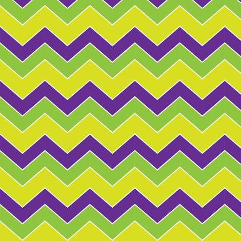 MardiGras-Chevron fabric by writefullysew on Spoonflower - custom fabric