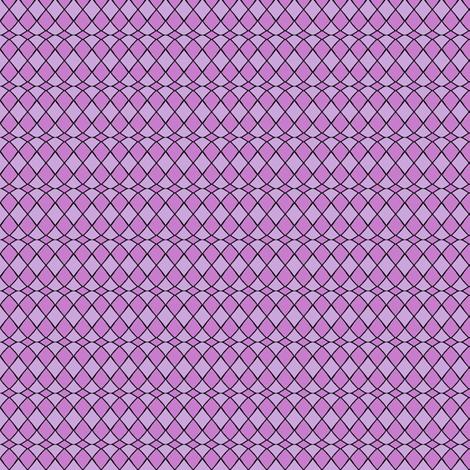 Purple Fool's Wave fabric by siya on Spoonflower - custom fabric