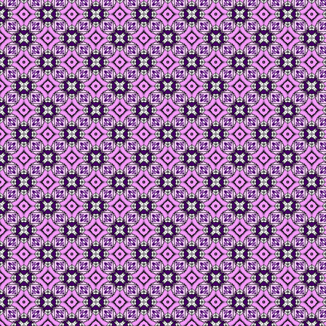Purple Fool's Cross fabric by siya on Spoonflower - custom fabric
