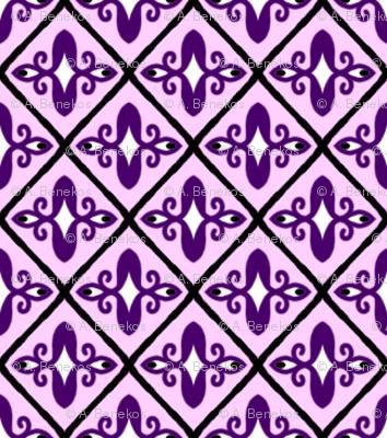 Purple Fool's Diamonds