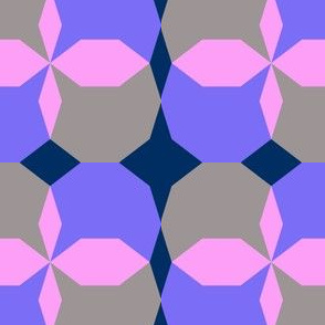 decagon purple - blue - gray - navy