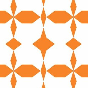 decagon orange - white