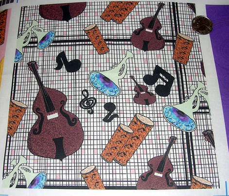 Jazzy Instruments pink black white