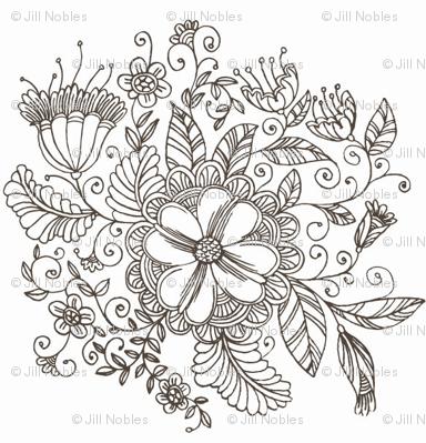 Flora Sketch
