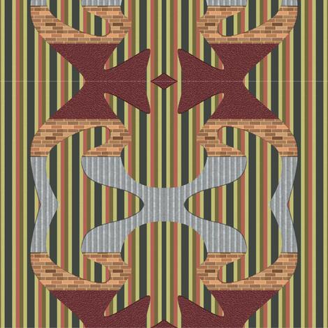 paternmiz fabric by craftyscientists on Spoonflower - custom fabric
