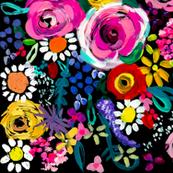 Les Fleurs // Black