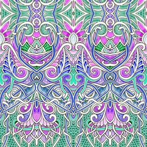 Royal Paisley Weed Patch