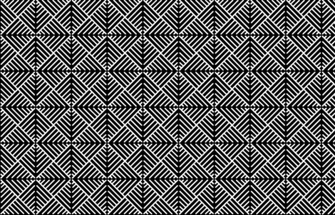 Black_n_White.  fabric by house_of_heasman on Spoonflower - custom fabric