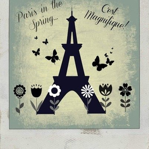 Paris in the Sprintime