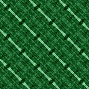 Patchwork: Green Stripes on the Bias