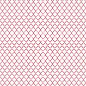 quatrefoil red