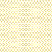 quatrefoil mustard yellow