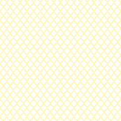 quatrefoil lemon yellow