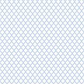quatrefoil cornflower blue