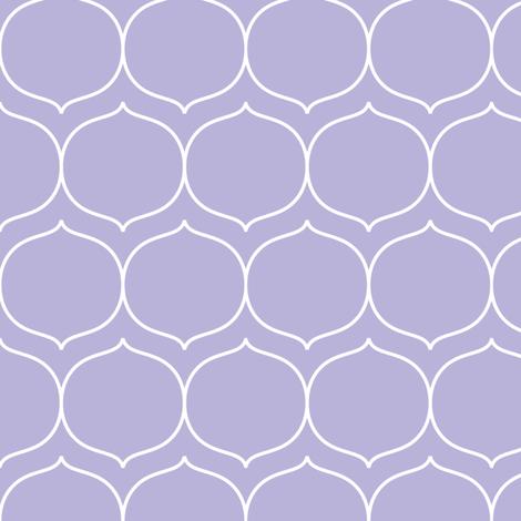 sugarplum light purple fabric by misstiina on Spoonflower - custom fabric