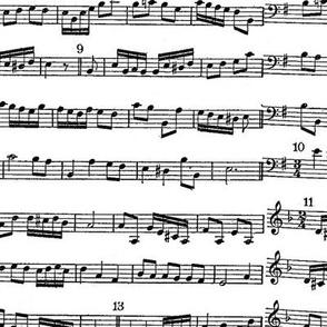 sheet music notes